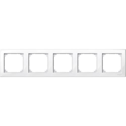 5-ne raam polaarvalge M-Smart Merten System M