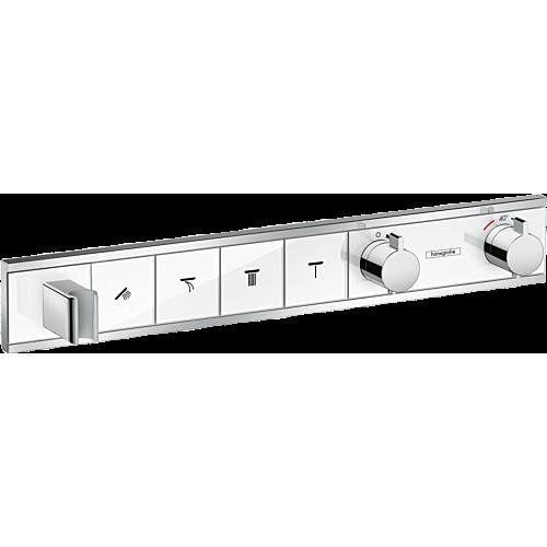 Vannisegisti paneel ShowerSelect 4 funktsiooni, kroom/valge