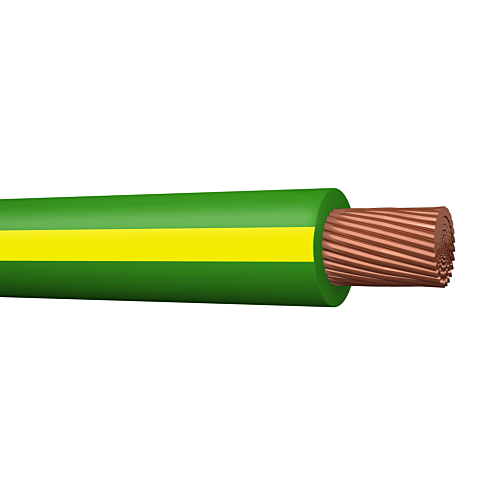 Montaazijuhe H07V2-K 16mm2, koro, 100m rullis,