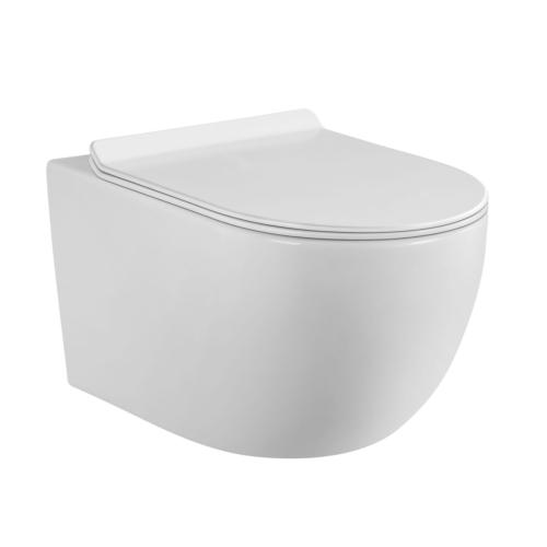 Seina WC Flory rimless + vaikselt sulguv prill-laud