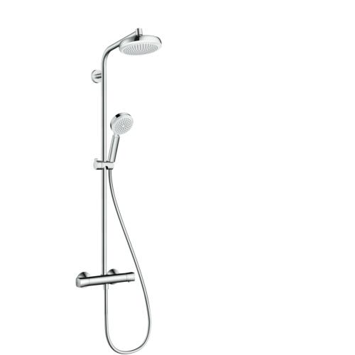 Termostaadiga dušisegisti Croma 160, showerpipe