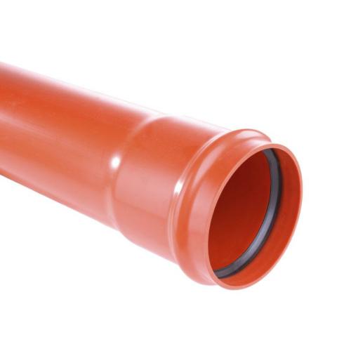 PVC muhvtoru 160x4,7-6m Coex SN8 EN13476 Pipelife