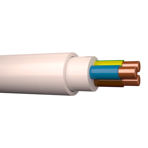 Halogeenivaba kaabel XPJ-HF 3G1,5 500V Dca valge 100m rullis, Draka
