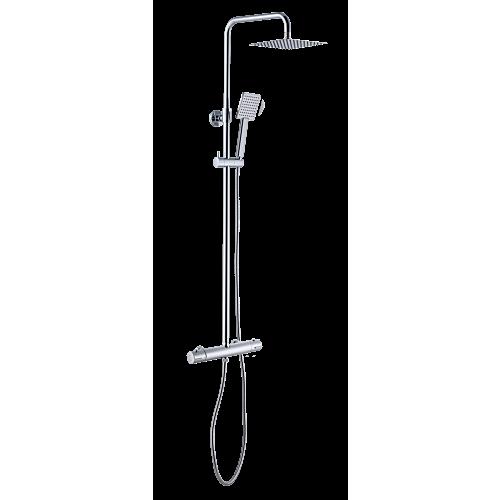 Termostaadiga dušisegisti 200mm kandiline, A-collection