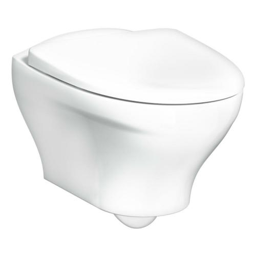 Seina WC Estetic rimless valge matt, SC prill-laud
