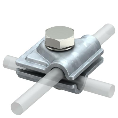 Kiirühendusklemm Vario 8-10mm, St, FT, OBO