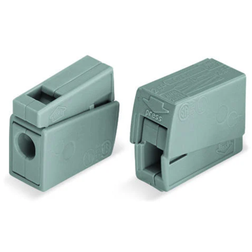 Lühterklemm 1+1 1-2,5mm 100tk pakis Wago