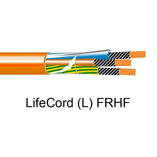 Tulekindel kaabel FRHF Lifecord 5G1,5, E90, Helkama