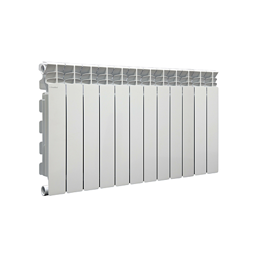Alumiiniumradiaator h=500 12-sektsiooniline