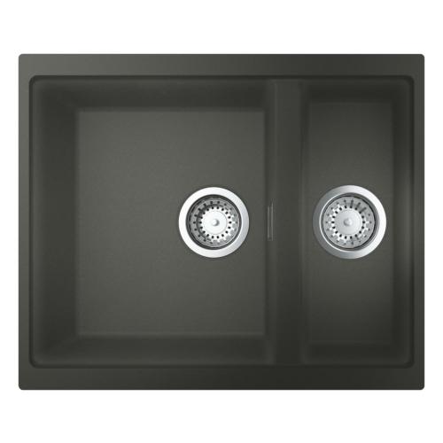 Köögivalamu K500 2 kaussi, granite gray