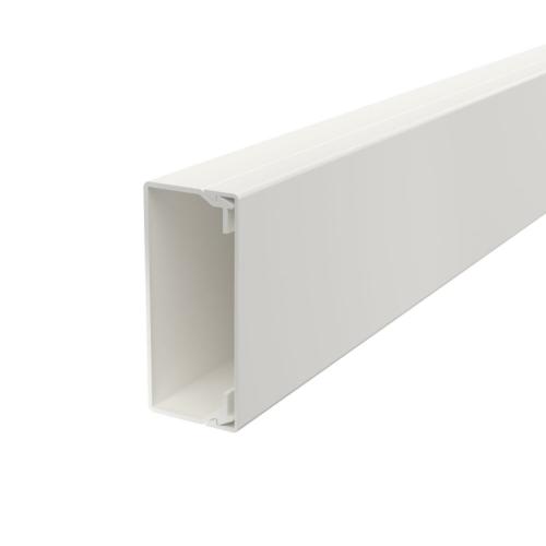 Karbik kaanega 40x90mm L=2000mm PVC polaarvalge, OBO