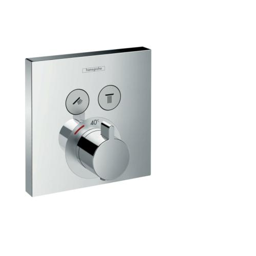 Termostaat ShowerSelect 2-väljundit, kroom