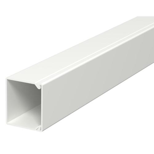 Karbik kaanega 40x40mm L=2000mm PVC polaarvalge, OBO