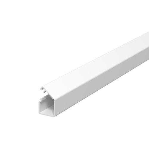 Karbik kleebitav, 12,5x12,5mm L=2000mm PVC polaarvalge, OBO