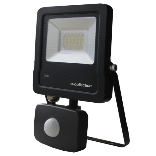 LED Prozektor 50W 4000K, PIR-sensorgia, A-Collection