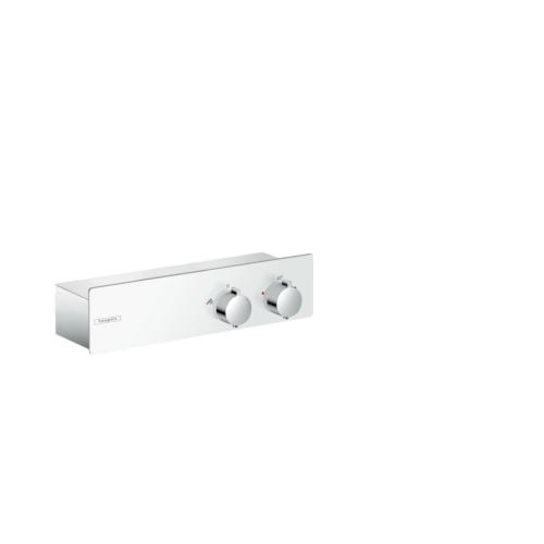 Termostaadiga dušisegisti Shower Tablet 350, valge/kroom
