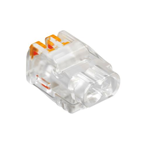 Klemm avatav 2-ne kiud/ plank 0,2-2,5mm2 läpipaistev, 100tk pakis, OBO