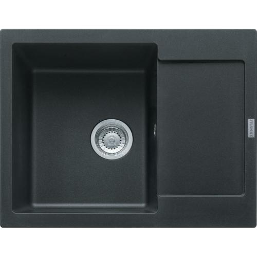 Köögi valamu MRG611-62 62x50cm, onyx