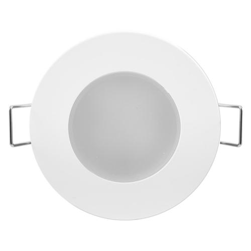 Süvisvalgusti LED BONO-R 5W valge ümar, 330lm, 3000K, IP65, 220V, Greenlux