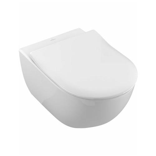 Seina WC Subway direct- flush, slim prill-laud