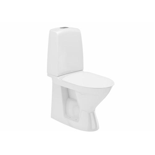 WC Inspira tahavooluga rimless, valge, prill-lauata