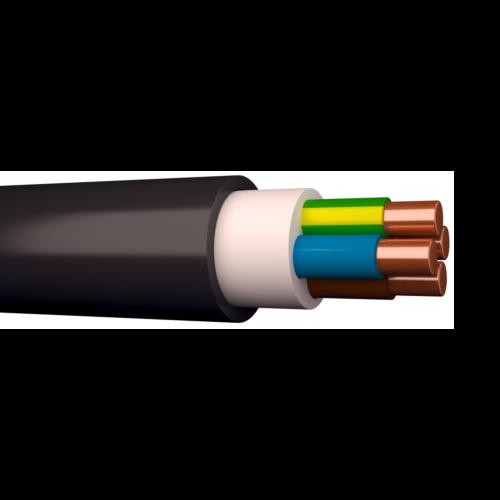 Halogeenivaba kaabel XPUJ-HF 3G2,5 500V Dca must 100m rullis, Draka
