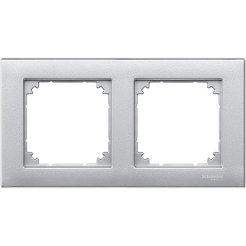 2-ne raam, alumiinium, Schneider Merten System M, M-Plan