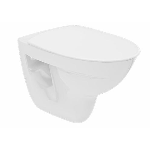 Seina WC Inspira rimfree, valge, prill-lauata