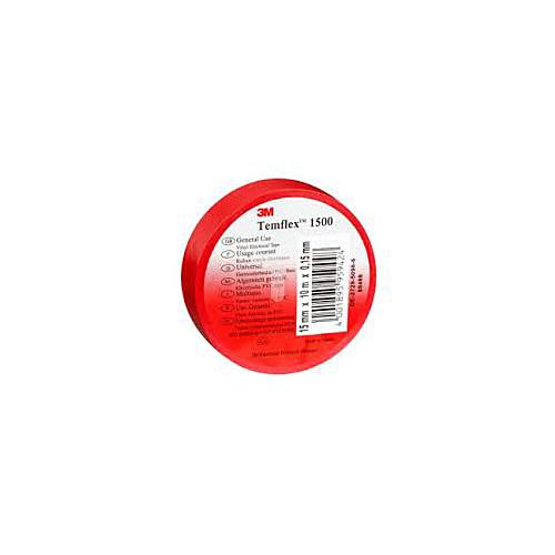 Isolatsiooniteip 15mmx10m punane PVC 3M