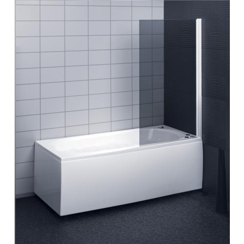 Dušisein sirgjoonelisele vannile, toonitud klaas