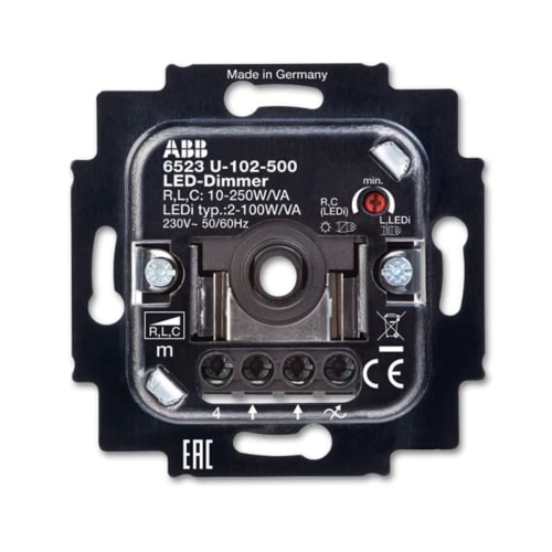 Led-dimmeri sisu, 2-100W/VA, ABB Basic55