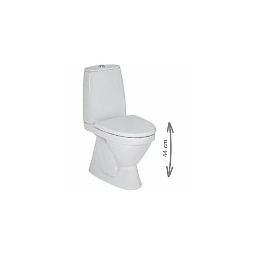 WC Lyra+ Scandia allavool sisend alt, 5/3l valge