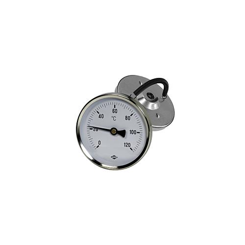 Termomeeter 63 mm 0-120°C vedruga