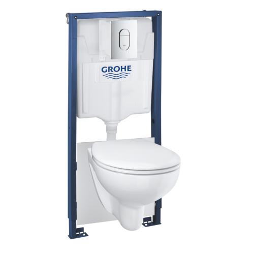 Rapid SL + Bau seina WC rimless, SC prill-laud,CR