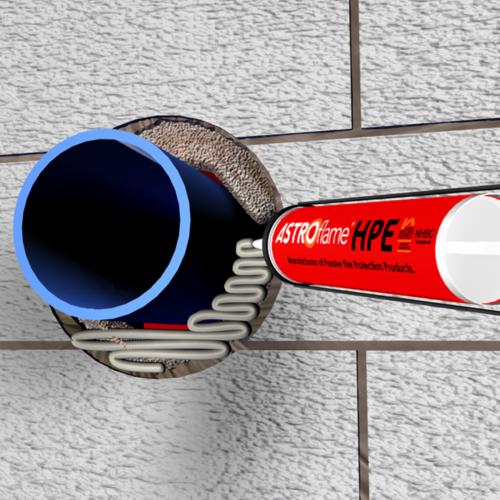 Tuletõkkemastiks 310ml (paisuv) VALGE