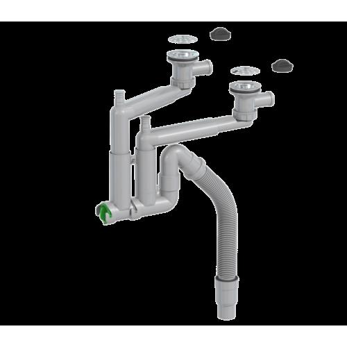 Köögivalamusifoon 2-osal,põhjaklapiga, sõeltega 42L03F01