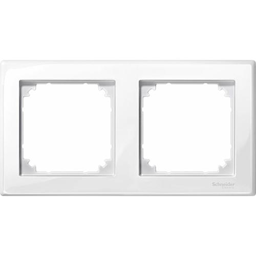 2-ne raam polaarvalge M-Smart Merten System M