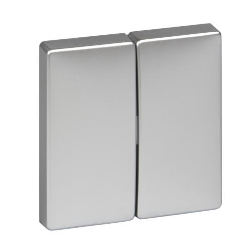 2-ne klahv(5), alumiinium, Schneider Merten System Design