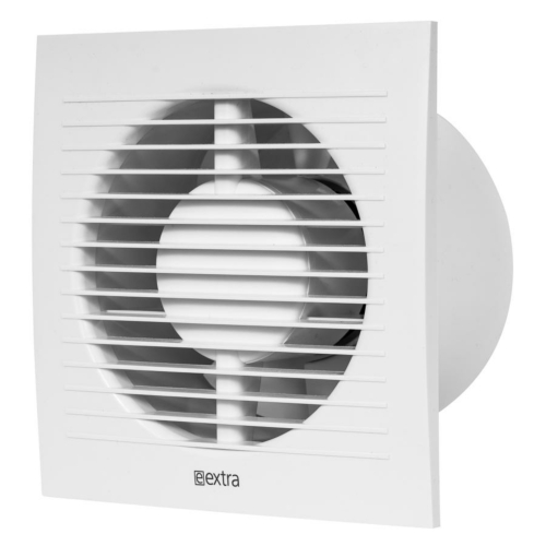 Ventilaator taimeriga 125mm, E-EXTRA, Europlast