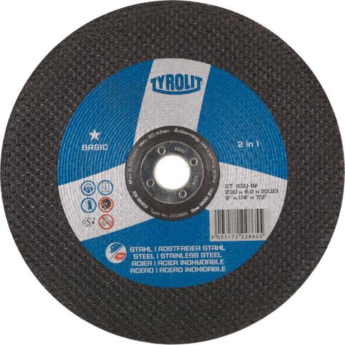 Lihvketas 230*6*22,2mm Inox+Steel