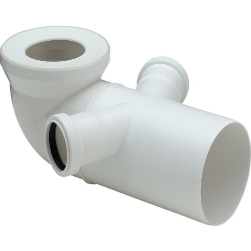 Viega WC ühendus 90° DN 110, lisaühendustega 2x50