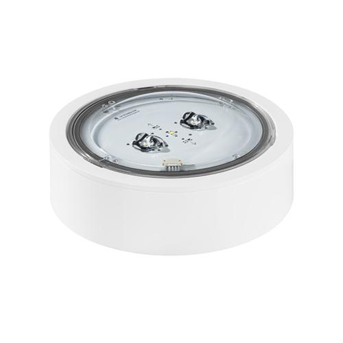 Led turvavalgusti iTech C2 305 M ST, 4.5W, 478lm, IP65, valge, pinnapealne ümar, koridori, TMT