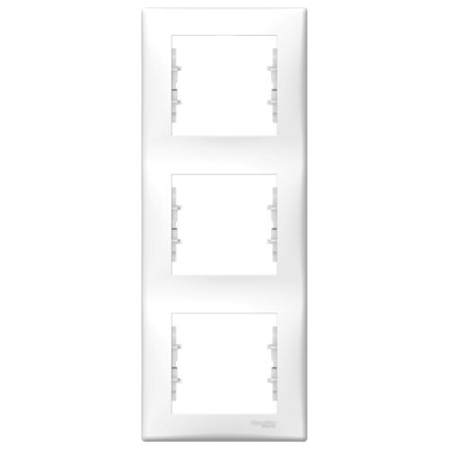 3-ne raam valge vertikaalne Sedna
