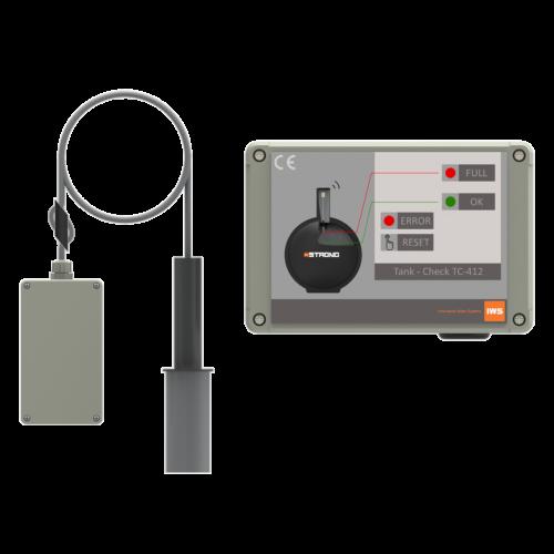 Alarmseade juhtmevaba TC-412 mahutile, pumplale IWS