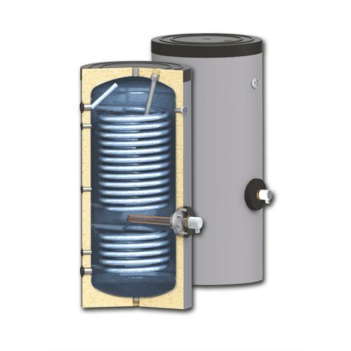 Boiler soojusvahetiga 500 500 l / 1,8+4,36m²
