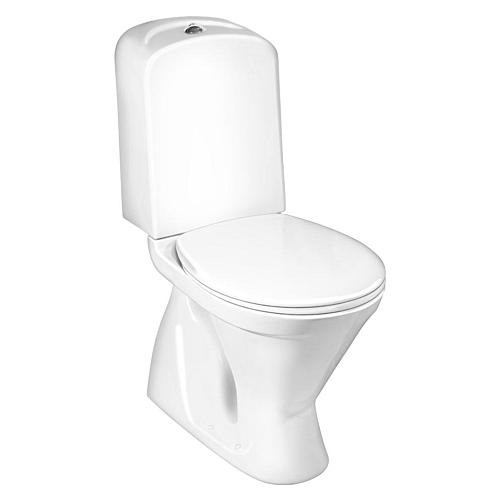 WC Nordic3 3/6L allavool prill-lauaga, valge