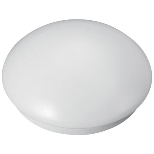 Plafoon VELA, E27 60W, IP44, valge matt klaas, Greenlux
