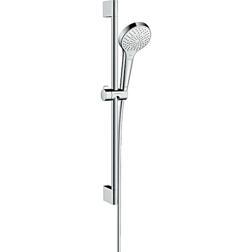 Dušikomplekt Croma S Select 650mm, kroom/valge