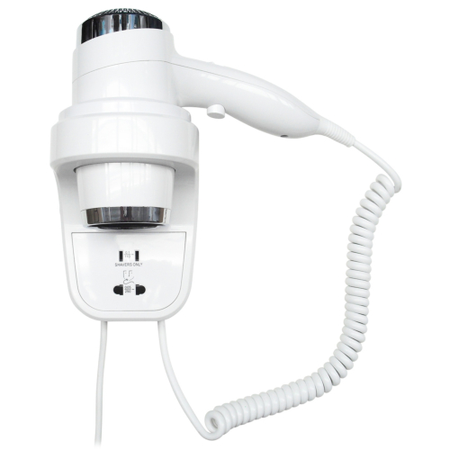 Föön koos pistikuga Nofer valge 1800-2200W