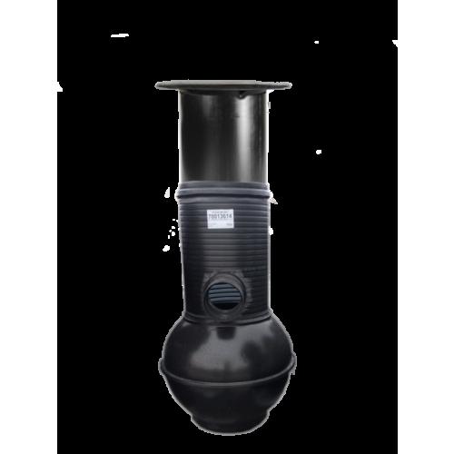Sademevee restkaev ISO SVK800 560/500 H = 1,2m + teleskoop + restluuk Pipelife